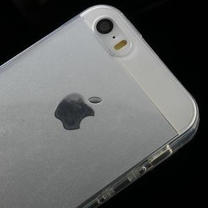Gelový transparentní obal na iPhone SE / 5s / 5 - 3