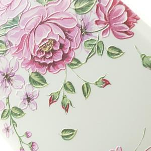Softy gelový obal na mobil Lenovo A7000 / K3 Note - zahradní růže - 3
