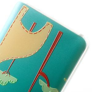 Softy gelový obal na mobil Lenovo A7000 / K3 Note - žirafa - 3