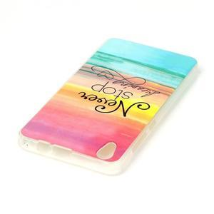Softy gelový obal na mobil Lenovo S850 - nepřestávej snít - 3
