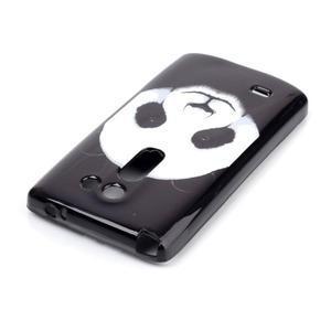 Softy gelový obal na LG Leon - panda - 3