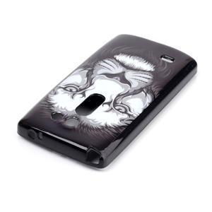 Softy gelový obal na LG Leon - lev - 3