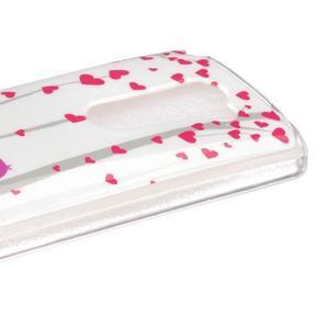 Jelly gelový obal na mobil LG Leon - láska - 3