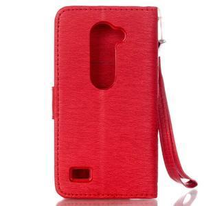 Magicfly pouzdro na mobil LG Leon - červené - 3