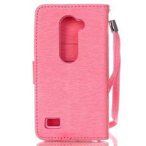 Magicfly pouzdro na mobil LG Leon - růžové - 3