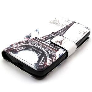 Style peněženkové pouzdro na LG Leon - Eiffelova věž - 3
