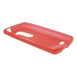 S-line gelový obal na mobil LG Leon - červený - 3
