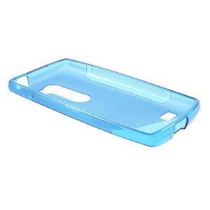 S-line gelový obal na mobil LG Leon - modrý - 3