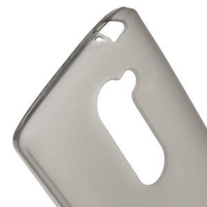 Matný gelový obal na mobil LG Leon - šedý - 3