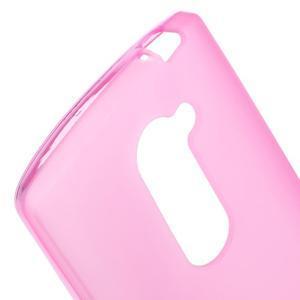 Matný gelový obal na mobil LG Leon - rose - 3