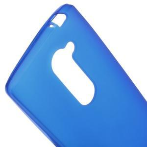 Matný gelový obal na mobil LG Leon - modrý - 3