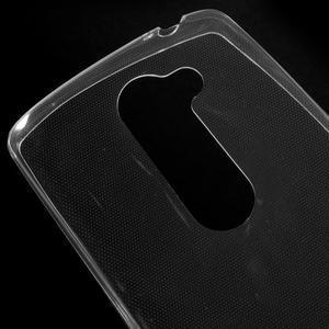 Ultratenký gelový obal na mobil LG Leon - transparentní - 3