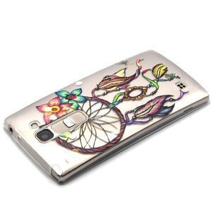 Transparentní gelový kryt na mobil LG Spirit - snění - 3