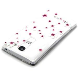 Transparentní gelový obal na mobil LG Spirit - květy třešní - 3