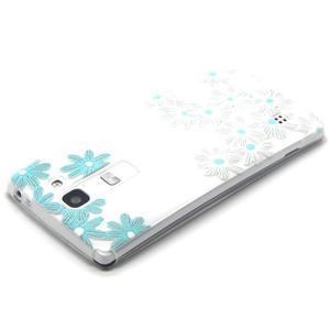 Transparentní gelový obal na mobil LG Spirit - sedmikrásky - 3