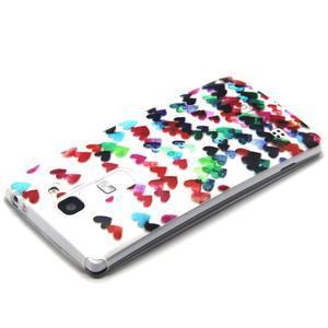 Transparentní gelový obal na mobil LG Spirit - srdíčka - 3
