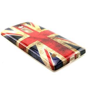 Gelový kryt na mobil LG Spirit - UK vlajka - 3