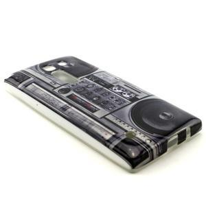 Gelový kryt na mobil LG Spirit - kazeťák - 3