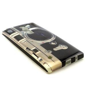 Gelový kryt na mobil LG Spirit - retro foťák - 3