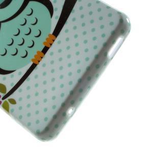 Gelový obal pro Sony Xperia Z3 mini - sova - 3