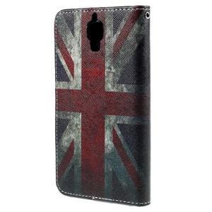 Cross peněženkové pouzdro na Xiaomi Mi4 - UK vlajka - 3