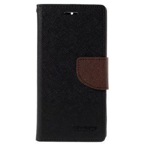 Mr. Fancy peněženkové pouzdro na Xiaomi Mi4 - černé/hnědé - 3