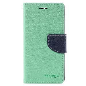 Mr. Fancy peněženkové pouzdro na Xiaomi Mi4 - azurové - 3