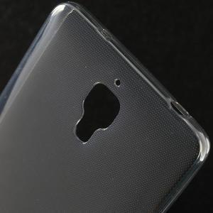 Ultratenký slim gelový obal na Xiaomi Mi4 - šedý - 3