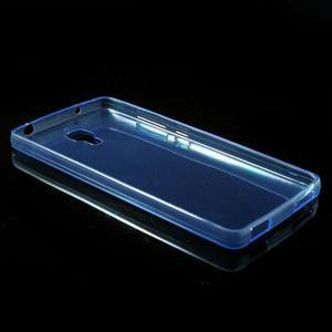 Ultratenký slim gelový obal na Xiaomi Mi4 - modrý - 3