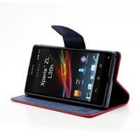 Mr. Goos peněženkové pouzdro na Sony Xperia Z - červené - 3/6