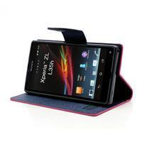 Mr. Goos peněženkové pouzdro na Sony Xperia Z - rose - 3/7