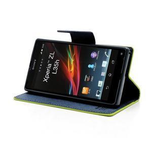 Mr. Goos peněženkové pouzdro na Sony Xperia Z - zelené - 3