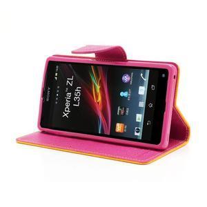 Mr. Goos peněženkové pouzdro na Sony Xperia Z - žluté - 3