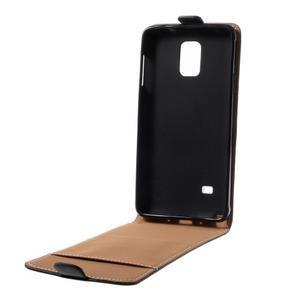 Flipové pouzdro pro Samsugn Galaxy Note 4 - černé - 3