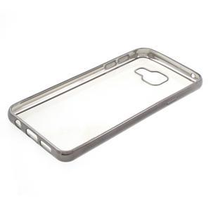 Rich gelový obal s šedým obvodem na Samsung Galaxy A3 (2016) - 3