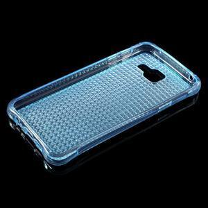 Diamonds gelový obal na Samsung Galaxy A3 (2016) - modrý - 3