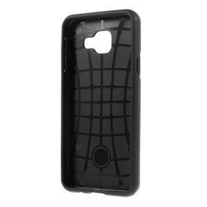 Odolný ochranný obal 2v1 na mobil Samsung Galaxy A3 (2016) - černý - 3