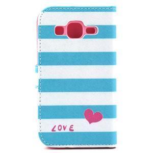 Pouzdro na mobil Samsung Galaxy Core Prime - love - 3