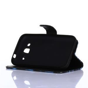 Standy peněženkové pouzdro na Samsung Galaxy Core Prime - žirafí mafie - 3