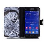Emotive peněženkové pouzdro na Samsung Galaxy Core Prime - sova - 3/6