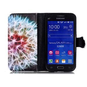 Emotive peněženkové pouzdro na Samsung Galaxy Core Prime - barevná pampeliška - 3