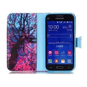 Emotive peněženkové pouzdro na Samsung Galaxy Core Prime - strom - 3