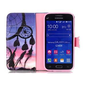 Emotive peněženkové pouzdro na Samsung Galaxy Core Prime - lapač snů - 3