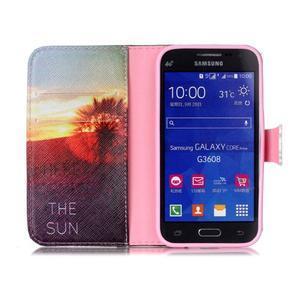 Emotive peněženkové pouzdro na Samsung Galaxy Core Prime - východ slunce - 3