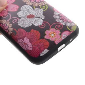 Hardy gelový obal na mobil Samsung Galaxy Core Prime - květinová koláž - 3
