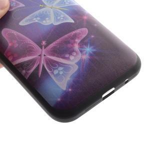 Hardy gelový obal na mobil Samsung Galaxy Core Prime - kouzelní motýlci - 3