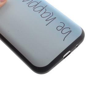 Hardy gelový obal na mobil Samsung Galaxy Core Prime - be happy - 3