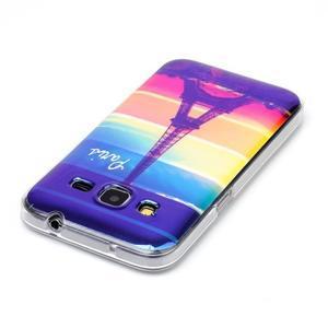 Bluray gelový obal s odlesky na Samsung Galaxy Core Prime - Eiffelova věž - 3