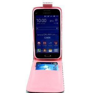 Flipové pouzdro na mobil Samsung Galaxy Core Prime - soví rodinka - 3