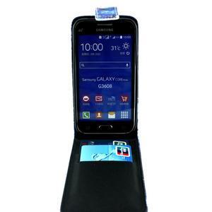 Flipové pouzdro na mobil Samsung Galaxy Core Prime - magičtí vlci - 3